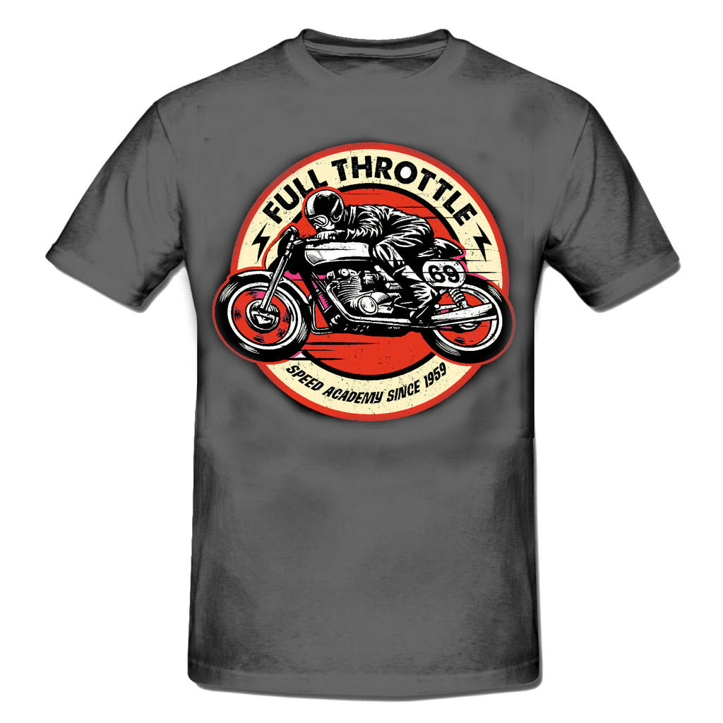 FULL THROTTLE Cafe Racer T-Shirt