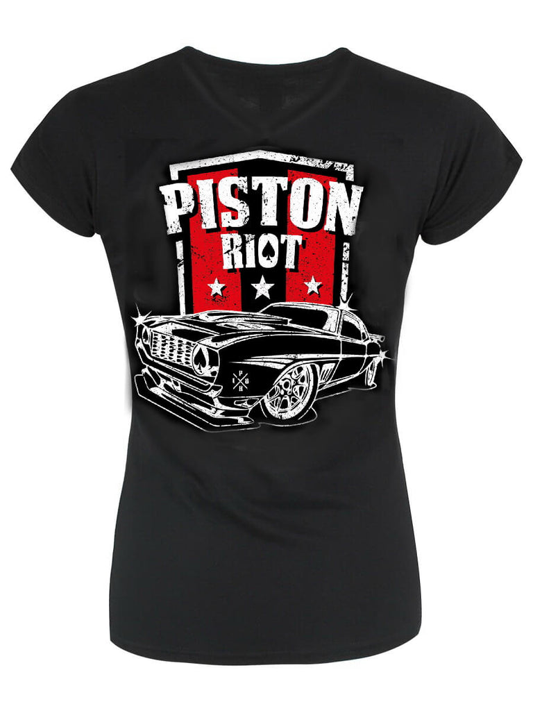 PISTON RIOT - Muscle Car Beast LIMITED EDITION XIV Ladies T-Shirt