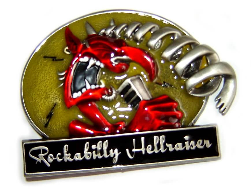 ROCKABILLY HELLRAISER Special Edition Belt BUCKLE