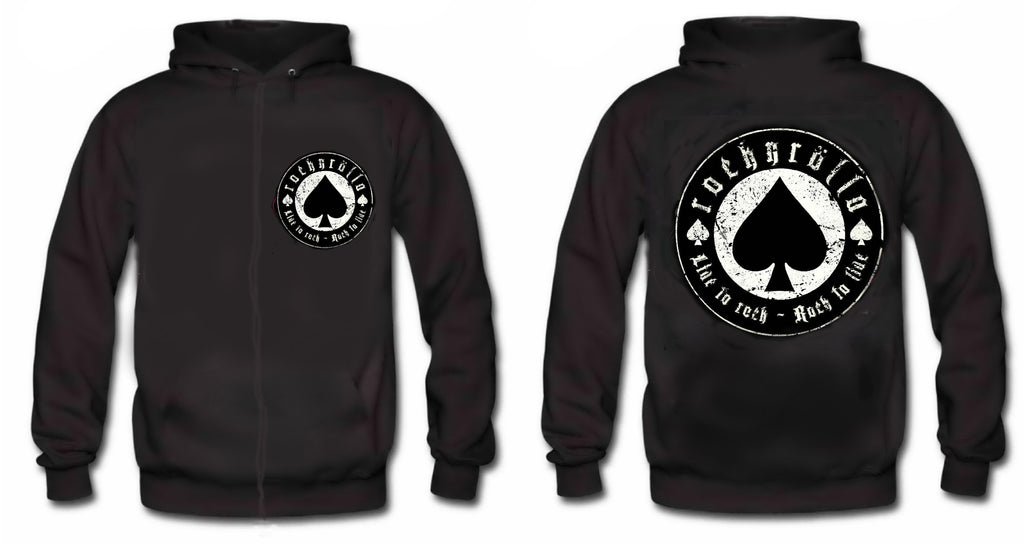 ROCKNROLLA - Live To Rock Rock To Live ROCKNROLL HOODIE Limited Edition
