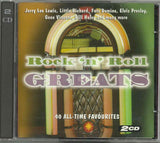 Various - ROCK'N'ROLL GREATS - 40 ALL-TIME FAVOURITES 2CD Special Offer!