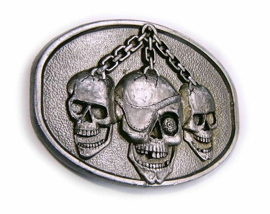 SKULLS ON CHAIN Super 3D Official Masterpiece Collection Belt BUCKLE