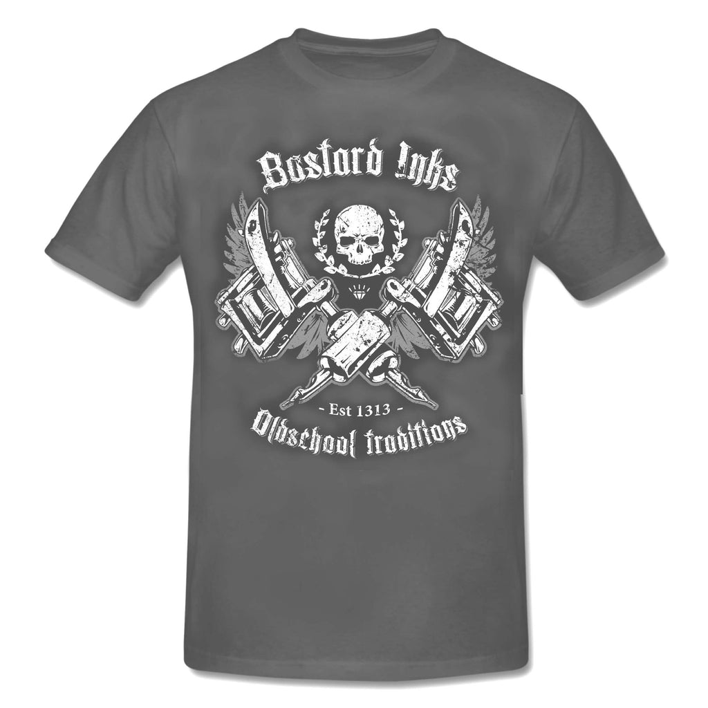 Tattoo BASTARD INKS - OLD SCHOOL TRADITION T-Shirt