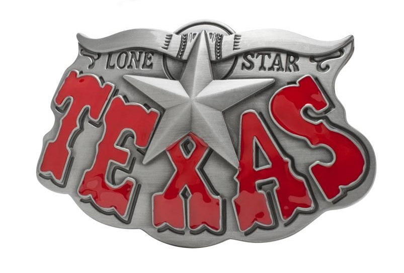 TEXAS LONE STAR Western COUNTRY Belt BUCKLE