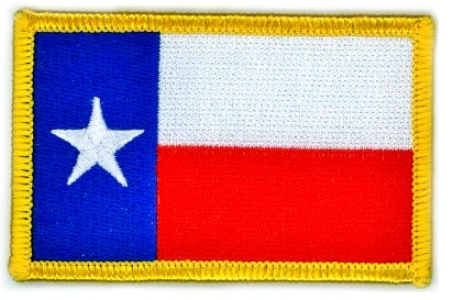 TEXAS NATIONAL FLAG - Lone Star Edition 8 x 5 cm PATCH!