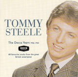 TOMMY STEELE - The Decca Years 1956-1963 68 TRACKS !!! FANTASTIC UK RnR Find 2-CD