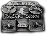 Operation DESERT STORM Limited Edition Belt BUCKLE LAST ONE!