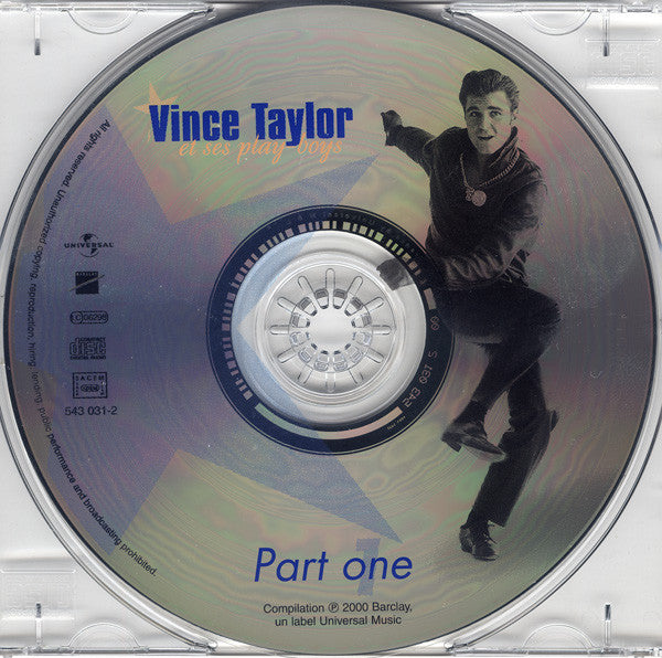 "VINCE TAYLOR & PLAY-BOYS ""BARCLAY SESSIONS Part One"" TWISTIN' THE ROCK CD"