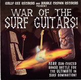 Various - WAR OF THE SURF GUITARS! Very RARE & HARD TO FIND Release CD
