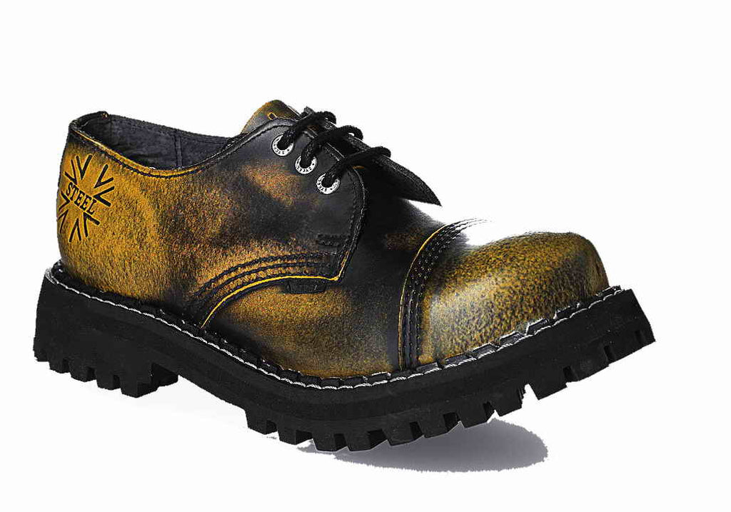 YELLOW URBAN 3-eyelet Shoes Steel Toe