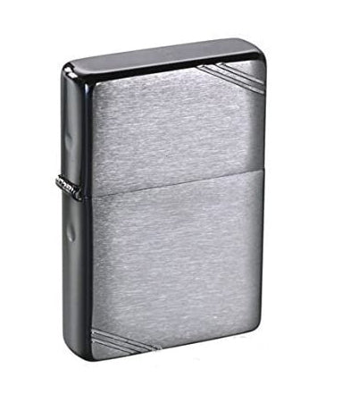 Zippo 1937 REPLICA with SLASHES- Brushed Chrome