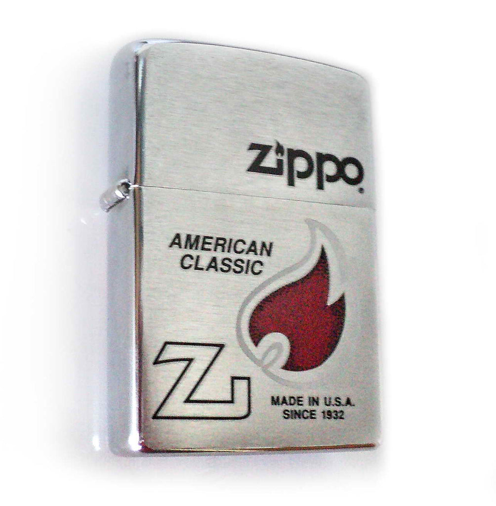 Zippo AMERICAN CLASSIC - LOGO FLAME Special Edition