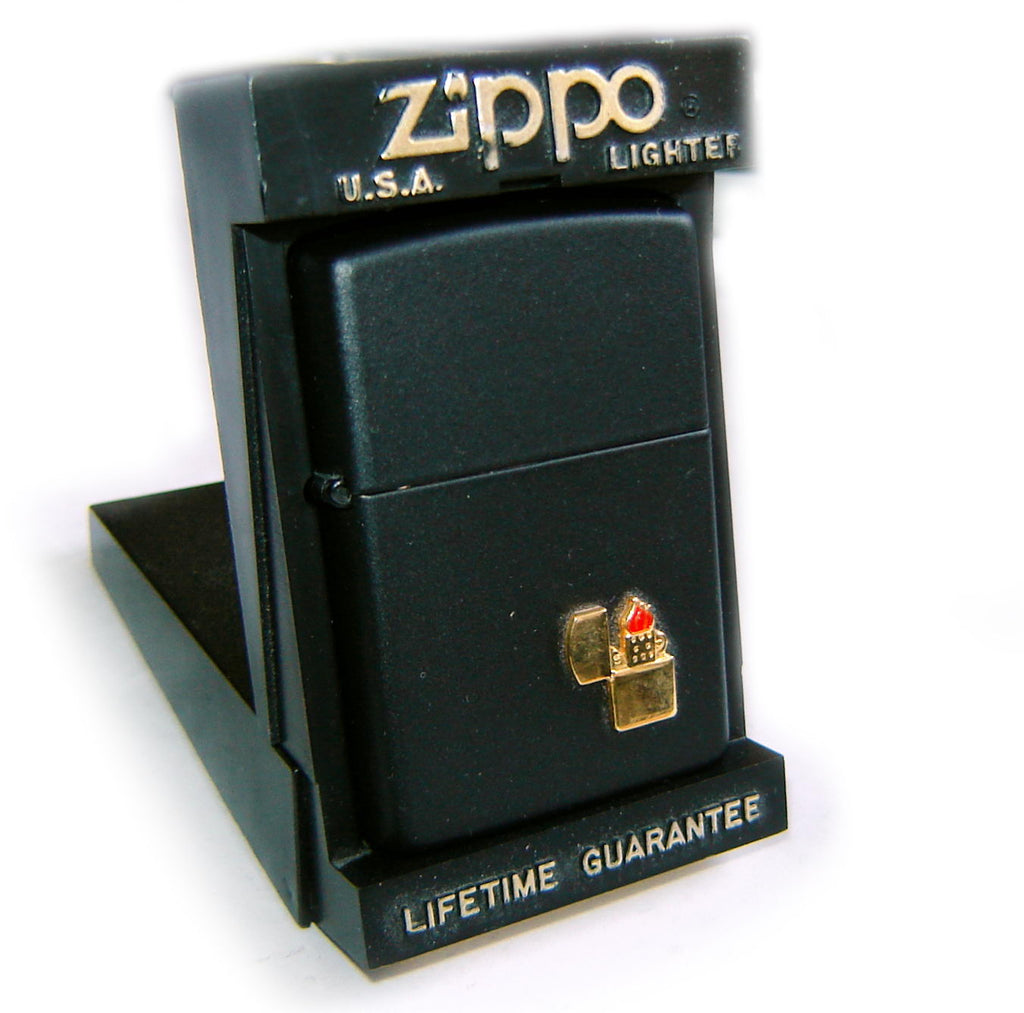 Zippo MINI EMBLEM with FLAME Vintage Edition