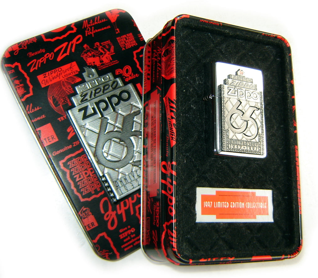 Zippo COTY 1997- 65th ANNIVERSARY 1932-1997 (Collectible of the Year) Limited Edition SET