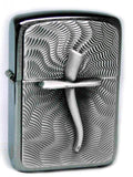 Zippo ANCIENT CROSS-CURVED ILLUSION Massive Plate SPECIAL