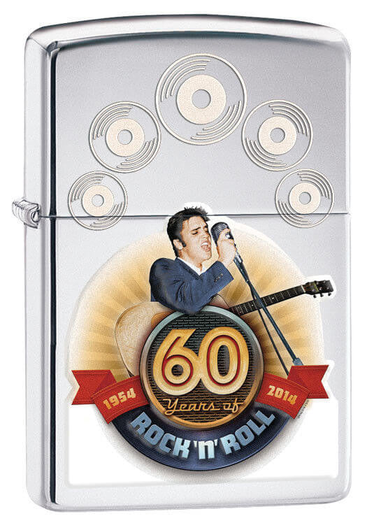 "Zippo ELVIS PRESLEY ""60 YEARS OF ROCK N ROLL"" Special"