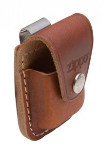 Zippo ORIGINAL HOLDER - POUCH LEATHER Brown Made in USA