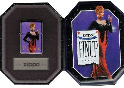 Zippo COTY 1995- Pin Up JOAN (Collectible of the Year) Limited Edition SET