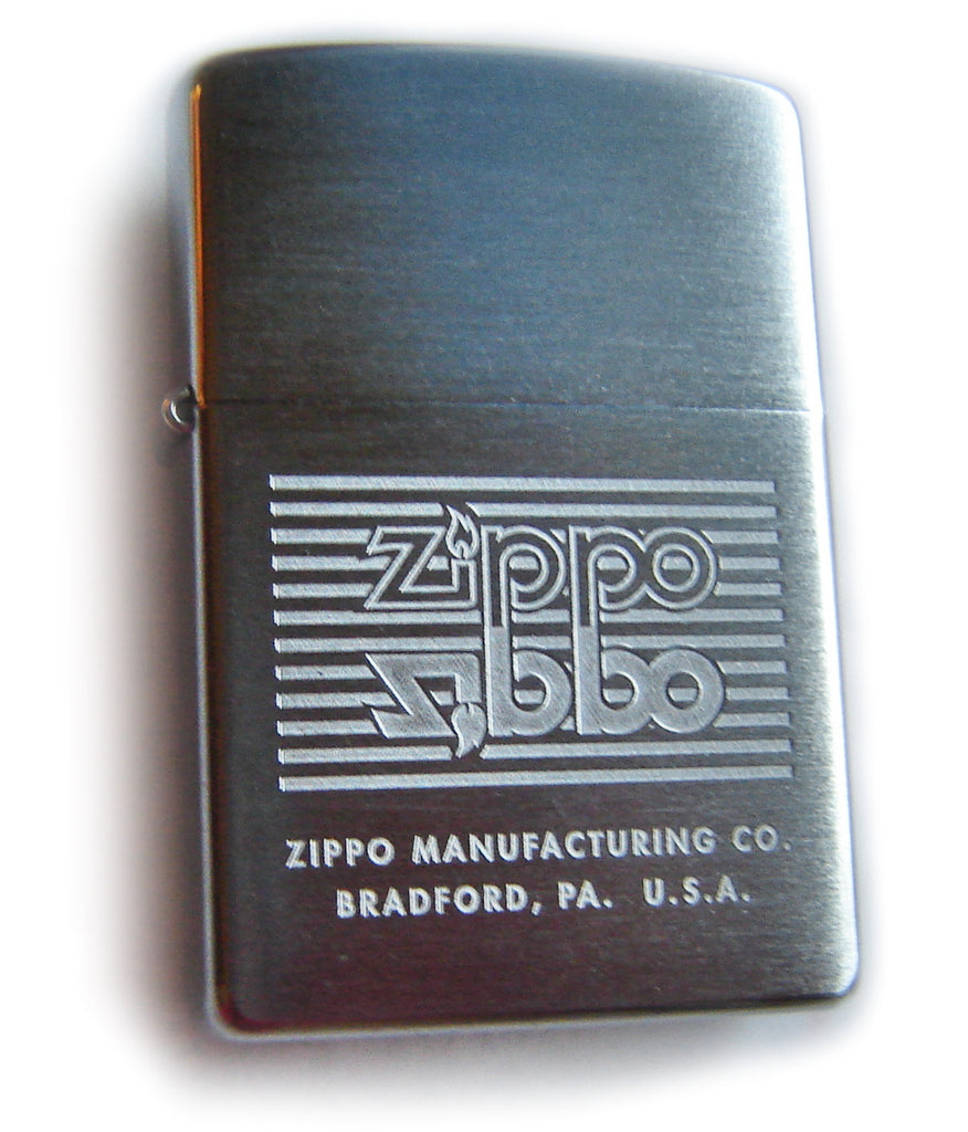 Zippo LOGO Engraved III MIRROR Collectible SPECIAL PRICE