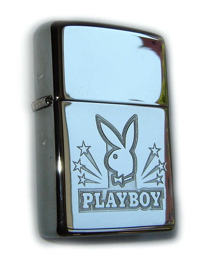 Zippo PLAYBOY LOGO STARS Engraved Collectible SPECIAL PRICE
