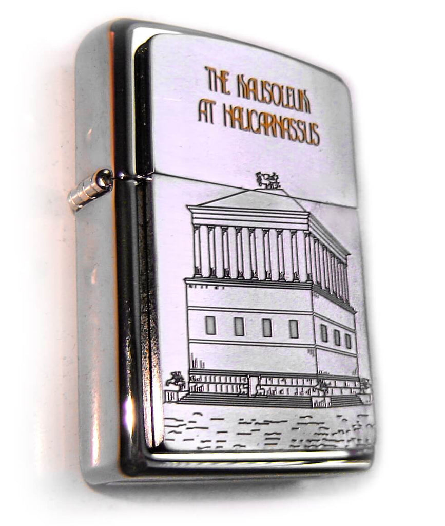 Zippo SEVEN WONDERS OF ANCIENT WORLD: MAUSOLEUM AT HALICARNSSUS Limited Edition 1000