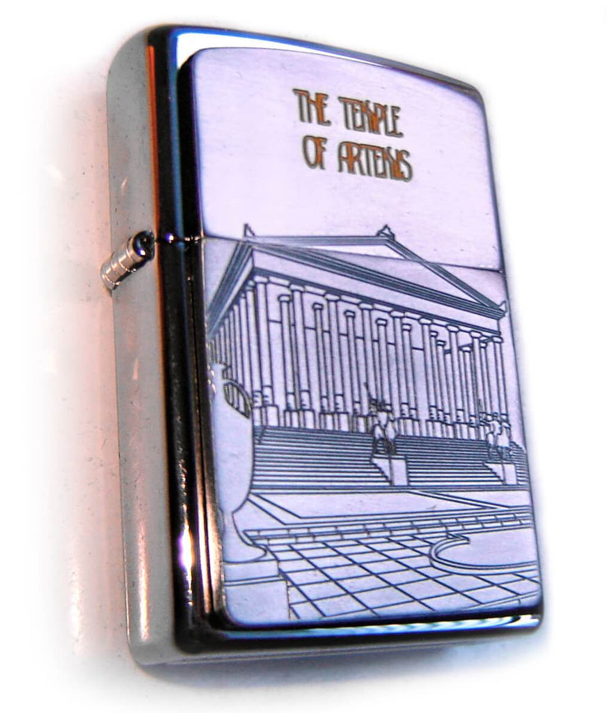 Zippo SEVEN WONDERS OF ANCIENT WORLD: TEMPLE OF ARTEMIS Limited Edition 1000
