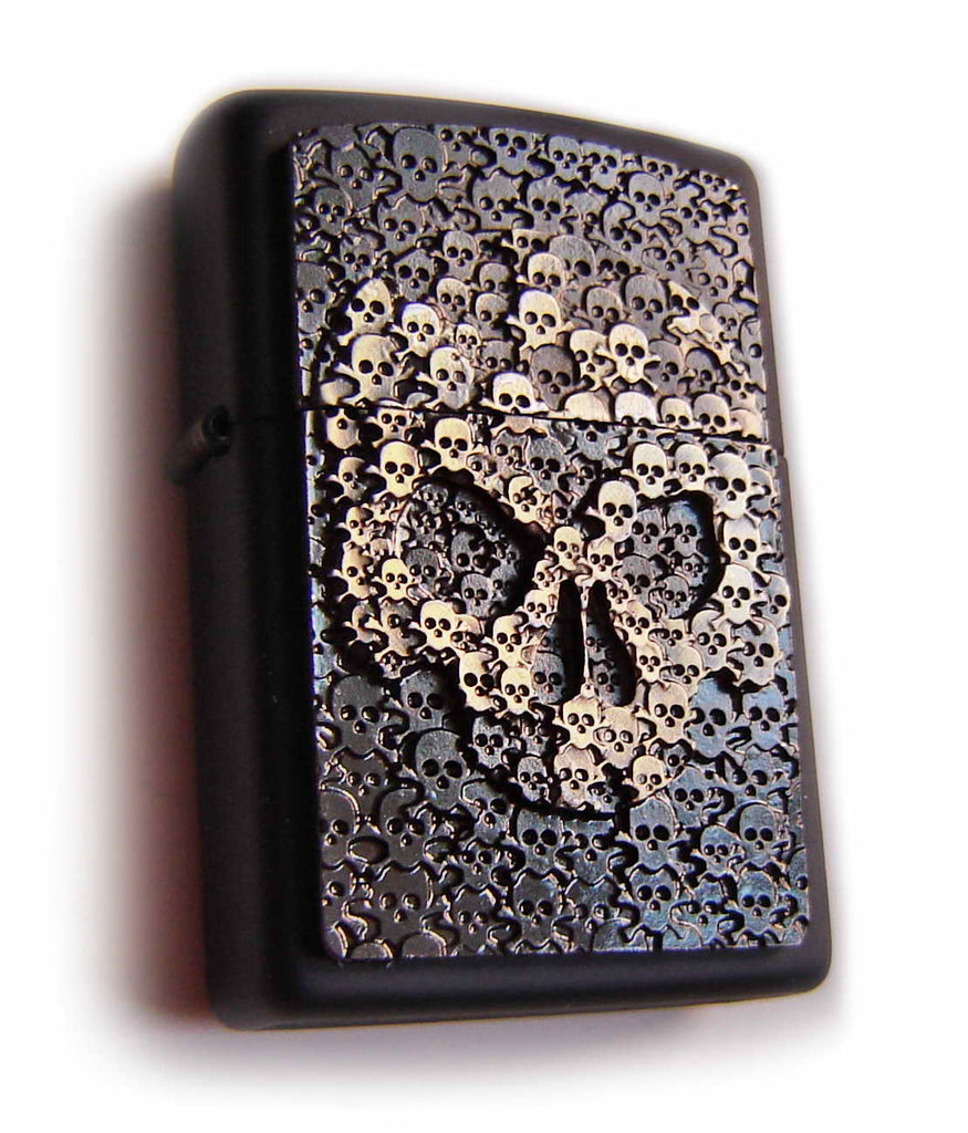 Zippo SKULL OF THOUSAND SKULLS  Fantastic Massive Plate SPECIAL