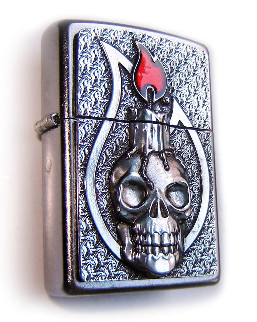 Zippo SKULL CANDLE Massive Plate SPECIAL