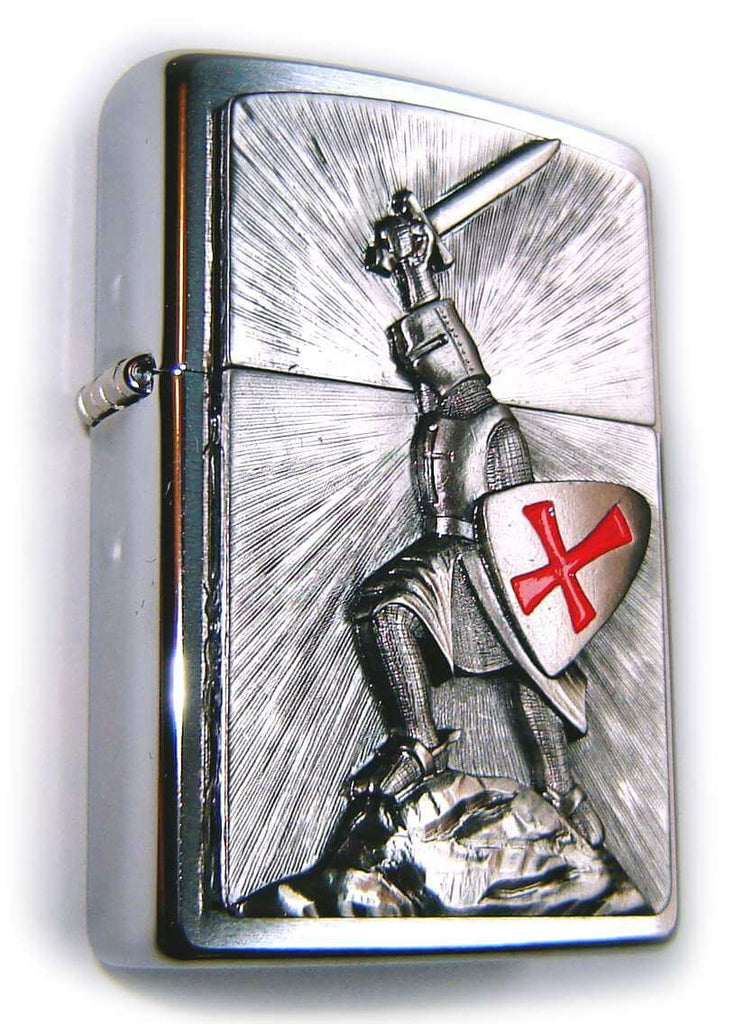 Zippo TEMPLARS CRUSADERS Masive Plate SPECIAL I