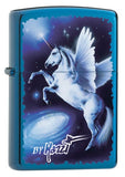 Zippo by MAZZI: UNICORN PHANTASY PEGASUS Rare Collectible Discontinued SUPER SPECIAL OFFER