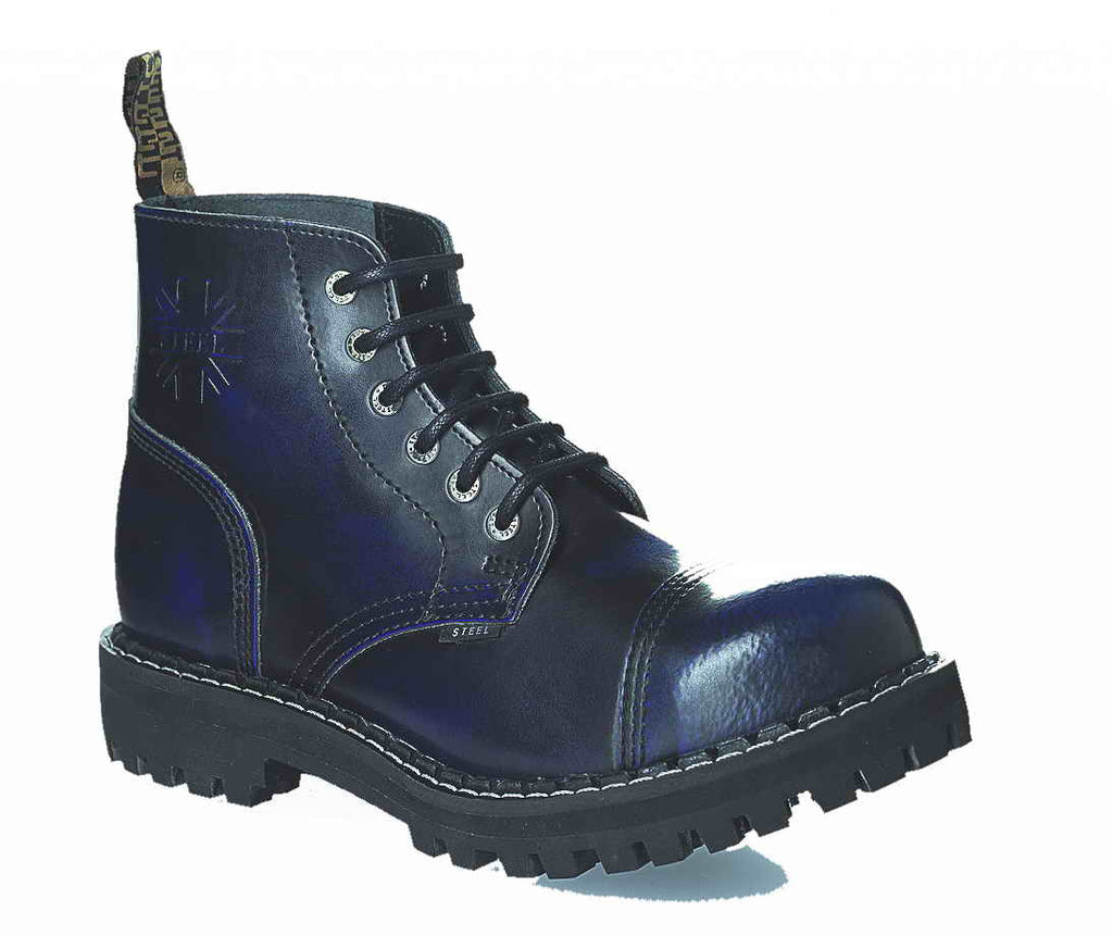BLUE URBAN 6-eyelet Shoes Steel Toe