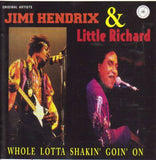 JIMI HENDRIX & LITTLE RICHARD - WHOLE LOTTA SHAKIN' GOIN' ON - VERY RARE Super Price CD