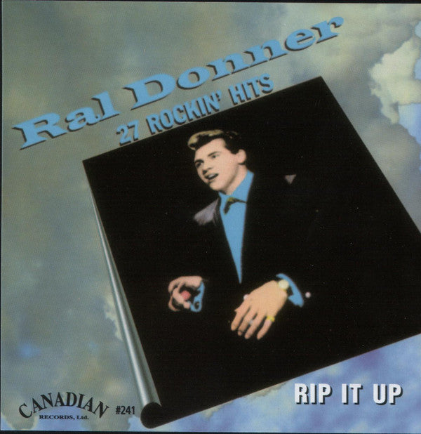 "RAL DONNER - RIP IT UP 27 Rockin' Hits"" Collectors Release CD"