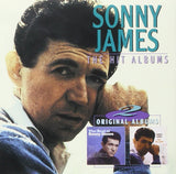 SONNY JAMES - THE HIT ALBUMS (2 Albums: THE BEST OF & ONLY THE LONELY) CD