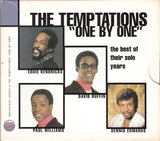 "TEMPTATIONS (THE) - ""ONE BY  ONE"" - The Best Of Their Solo Years 2CD Exceptional Very Rare CD"