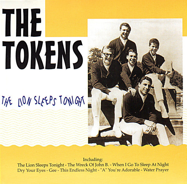 TOKENS (THE) - THE LION SLEEPS TONIGHT Doo-Wop Collectible CD