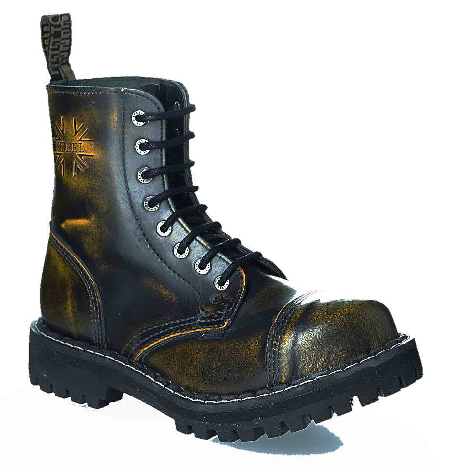 YELLOW URBAN 8-eyelet Boots Steel Toe