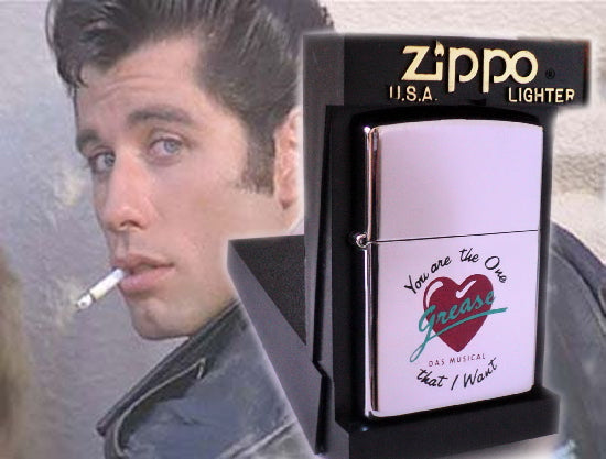 Zippo GREASE MUSICAL-YOU'RE THE ONE THAT I WANT  Limited Edition ULTRA RARE
