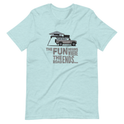 White Defender 110,T-Shirt, 4x4, off road design