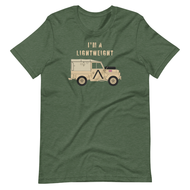Land Rover I'm a lightweight T-Shirt