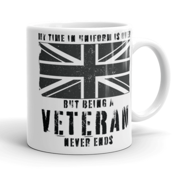 British Veterans Coffee Mug
