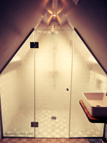 Apex Shower Glass Configuration
