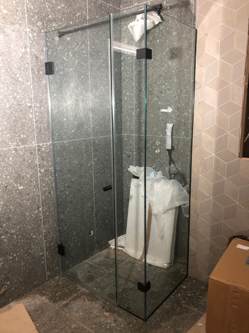 ways to fix or install a glass shower screen  marvin and