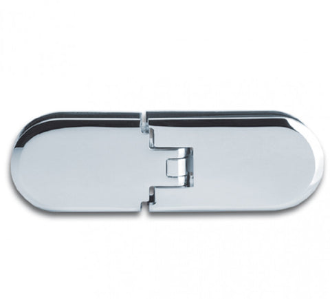 Shower Door Hinge Romana 180° glass/glass aligned