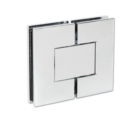 Shower Door Hinge Bilbao Premium 180° (adjustable) glass/glass mounting 50 kg