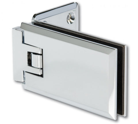 Shower Door Hinge Milano 90° glass/wall one side wall mounted