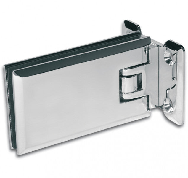 Shower Door Hinge Milano 90° glass/wall Both Sides Wall Mounted