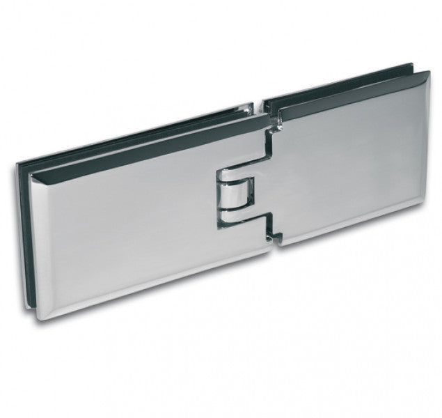 Shower Door Hinge Milano 180° glass/glass aligned