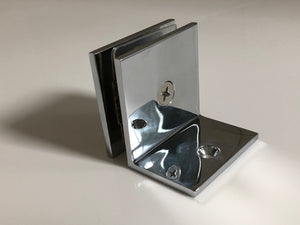 Square Clamp With Small Leg CHROME