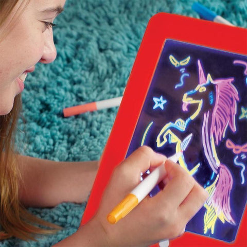 Tablette à Dessin LED Éducatif Pour Enfants-Orange - happiershop.com